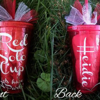 Red Solo Cup Personalized Acrylic Tumbler