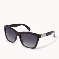 F8335 Studded Square Sunglasses