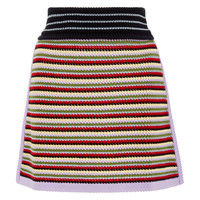 Crochet-Knit Cotton-Blend Mini Skirt | Moda Operandi