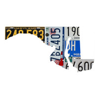 Maryland License Plate wall decal
