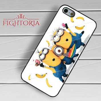 Banana Minion - z321z for iPhone 6S case, iPhone 5s case, iPhone 6 case, iPhone 4S, Samsung S6 Edge