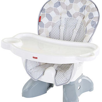Fisher-Price SpaceSaver High Chair - Gray Octagon