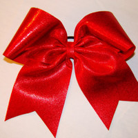 Red Mystic Cheer Bow