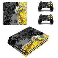 Dragon Ball of PS4 Pro Skin Sticker For Sony Playstation 4 PRO Console protection film and 2Pcs Controller Skins