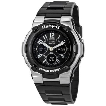 Casio Baby G Shock Resistant Black Multi-Function Sport Ladies Watch BGA110-1B2