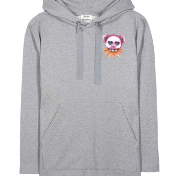 Florida Bears printed cotton hoodie