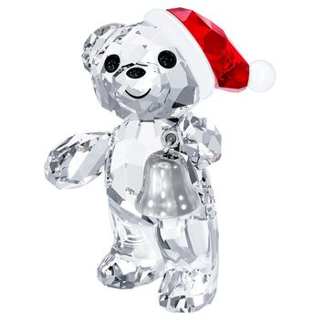 Swarovski Crystal Christmas Figurine KRIS BEAR CHRISTMAS 2013 #5003400