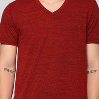Triblend V-Neck Tee-