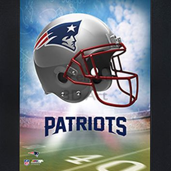 New England Patriots | 3D Art | By PFF | Framed | 3-D | Lenticular Artwork | NFL Licensed