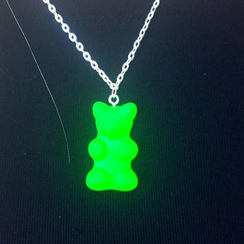 Gummi Bear Necklace Gummy Bear Necklace