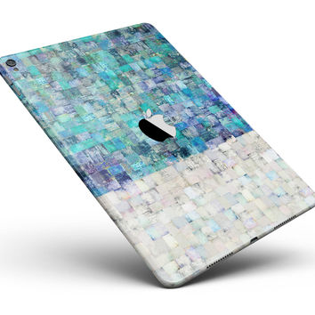 "Tiled Paint Full Body Skin for the iPad Pro (12.9"" or 9.7"" available)"