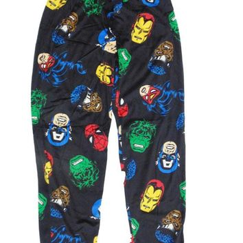 Marvel Comics Superhero Plush Lounge Pant