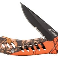 Remington F.A.S.T. Camo Mossy Oak Obsession Folder Knife (Black)