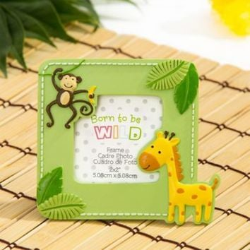 Jungle Photo Frame Place Card Holder 4in x 3 1/2in | Party City