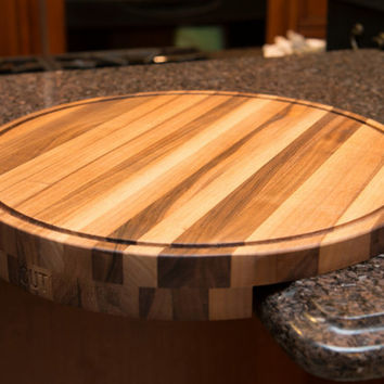 CutCorner Wood Corner Cutting Board