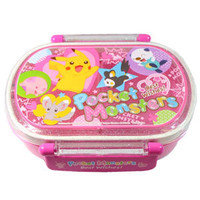 Pocket Monsters Pink Shiny Tight Sealed Bento Box ~ Best Wishes