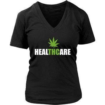 THC Healthcare - Women's V-Neck