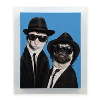 Pets Rock™ Brothers Canvas Wall Art