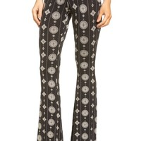 Lira Clothing Brynne Print Bell Bottom Pants | Nordstrom