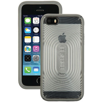 SPECK SPK-A3264 iPhone(R) 5/5s MightyShell(TM) Case (Clear/Slate Gray)