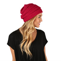 Beanie Beautiful in Magenta