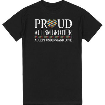 Proud Autism Brother Autism Awareness