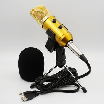 Mki Audio - Condenser Microphone Built In Reverb chip for Computer-Recording/Singing