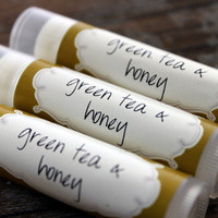 Green Tea and Honey- Lip Balm