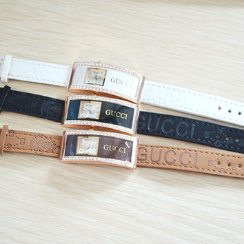 New Arrival Designer's Trendy Good Price Gift Awesome Great Deal Stylish Rhinestone Hot Sale Watch [10606602567]