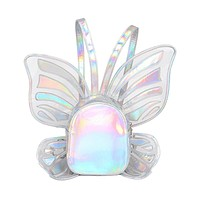 Float Like A Butterfly Holographic Backpack