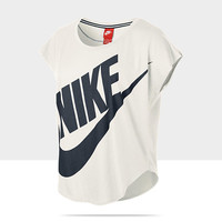 Check it out. I found this Nike Freestyler Logo Short-Sleeve Women's Top at Nike online.