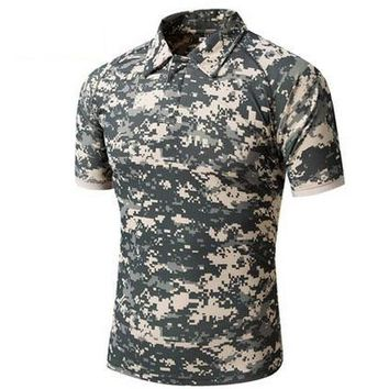 Hiking Shirt camping ROCOTACTICAL Mens Tactical Pocket T-Shirts Breathable Coolmax Military Army s Utility Anti UV Camping T-Shirts KO_17_1
