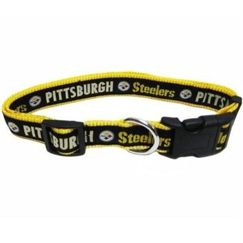 Chenier Pittsburgh Steelers Pet Collar