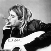 Kurt Cobain Smoking Poster College Items Dorm Room Decorations Nirvana Posters Dorm Stuff College Essentials