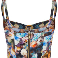Multi Flower Print Corset - New In This Week - New In - Topshop