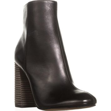 Jessica Simpson Chressa Ankle Booties, Black, 7.5 US / 37.5 EU