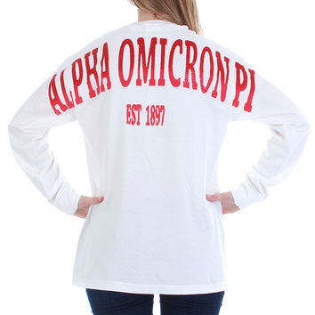 Alpha Omicron Pi Color Series Stadium Jersey