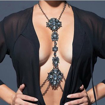 Crystal Statement Body Jewelry