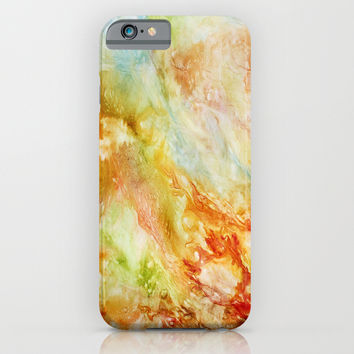 Autumn Breeze iPhone & iPod Case by Rosie Brown