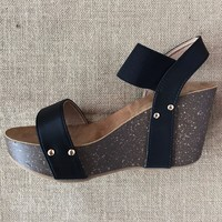 Go With Anything Wedge, Black