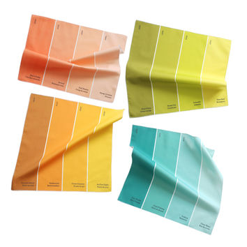 I liked this design on #Fab. Paint Chip Napkin Multi 4Pk