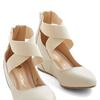 ModCloth Limitless Loveliness Wedge