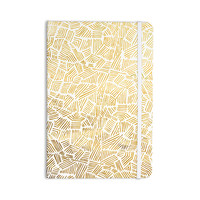 "Pom Graphic Design ""Inca Gold Trail"" Yellow Brown Everything Notebook"