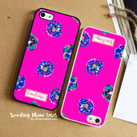 Pretty Pretty- Liberty Of London- Lily Pulitzer iPhone Case Cover for iPhone 6 6 Plus 5s 5 5c 4s 4 Case