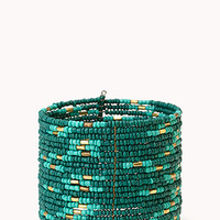 FOREVER 21 Globetrotter Beaded Cuff