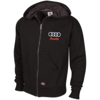 Audi Embroidered Thermal Fleece Hoodie