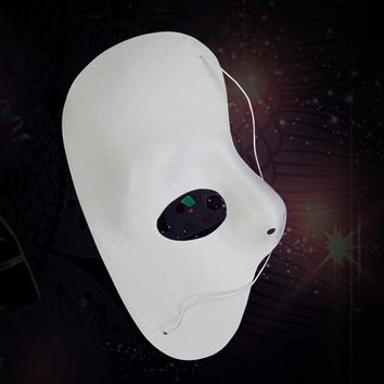Phantom of the opera Masquerade Party Eye Theatrical HALF FACE Mask