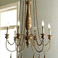 """French Bead"" Chandelier - Horchow"