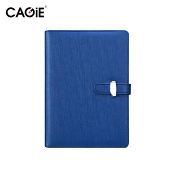 CAGIE 2017 Notebook A5/A6 Spiral Planner Agenda  Pu Leather  Cover Ring Binder Personal Diary Filofax School Sketchbook