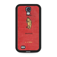 Winnie The Pooh Cover Book Samsung Galaxy S4 case